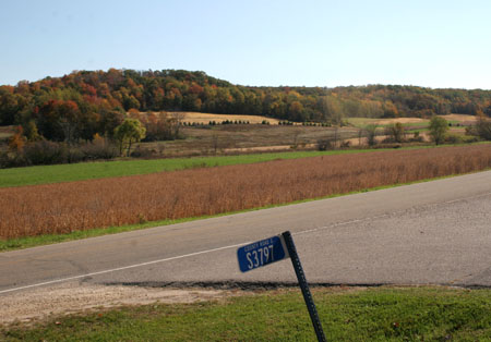 Wisconsin in fall, Carr Valley