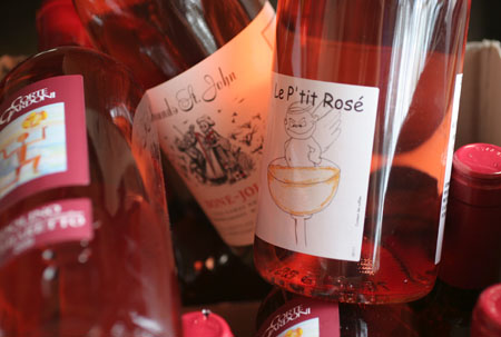 Rosé: A late summer/early fall Pink Party