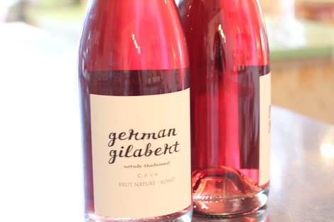 A favorite rosé Cava from Catalonia, Spain - great pairing with aged cheeses.