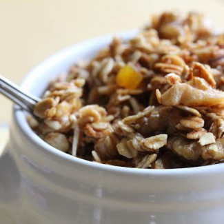 Apricot Browned Butter Granola