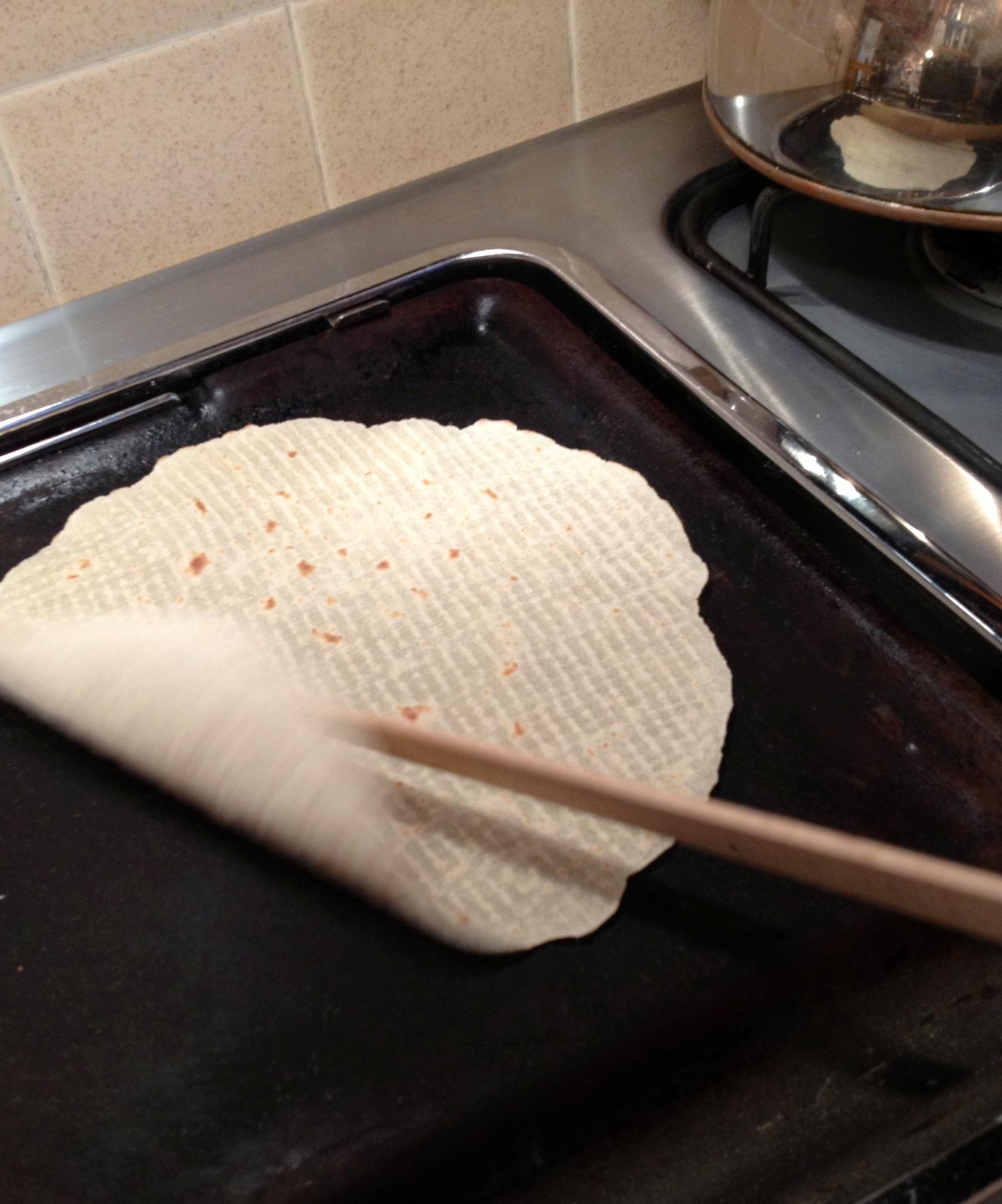 Making lefsa for Thanksgiving