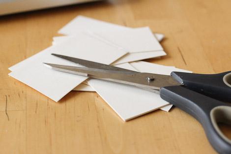 Step 3: Cut.