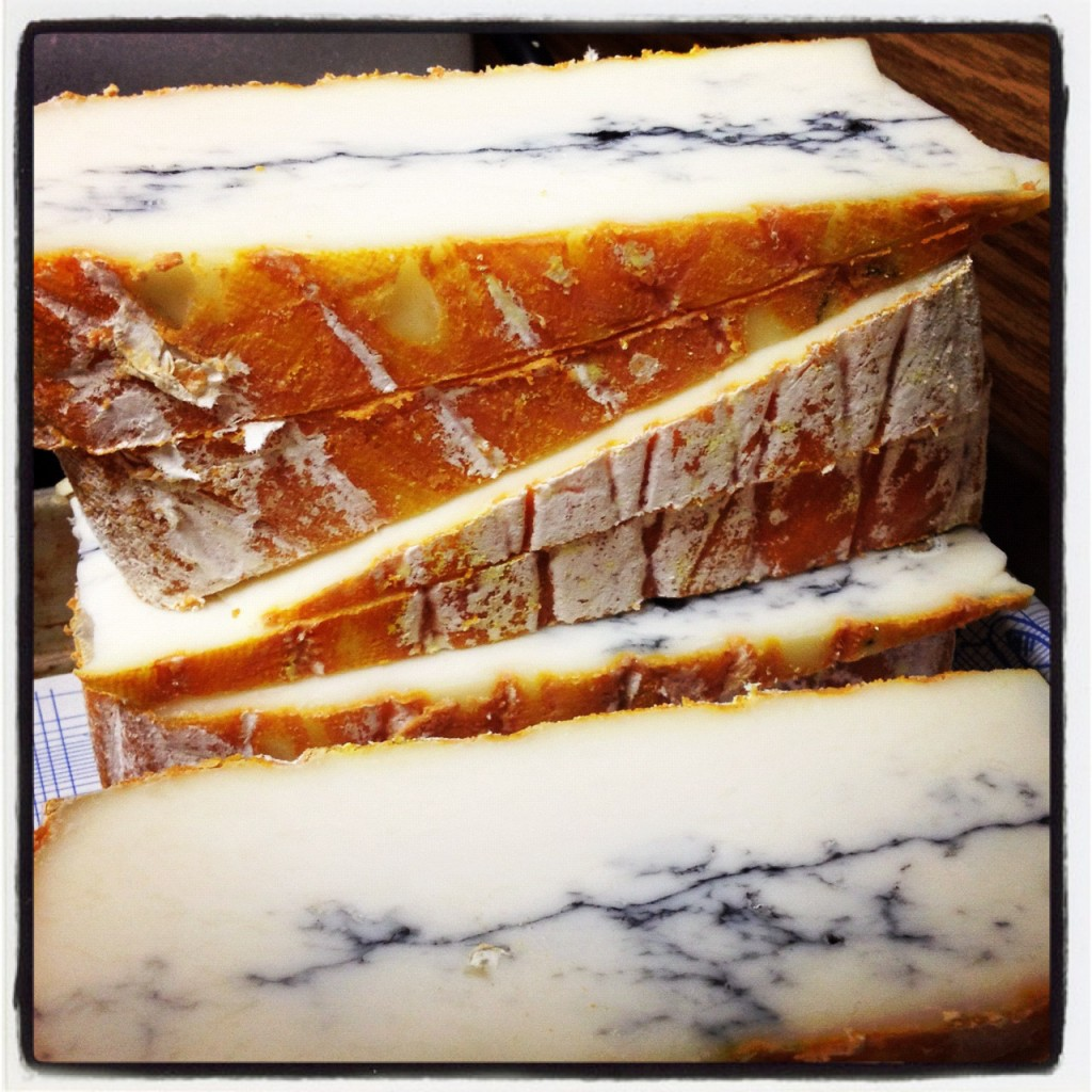 Le Jeune Autize - Holiday Cheese Plate- bright and funky.