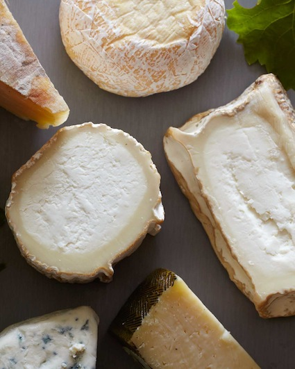 Some favorite cheeses in the book- photo by Matt Armendariz, Courtesy of Little, Brown and Company