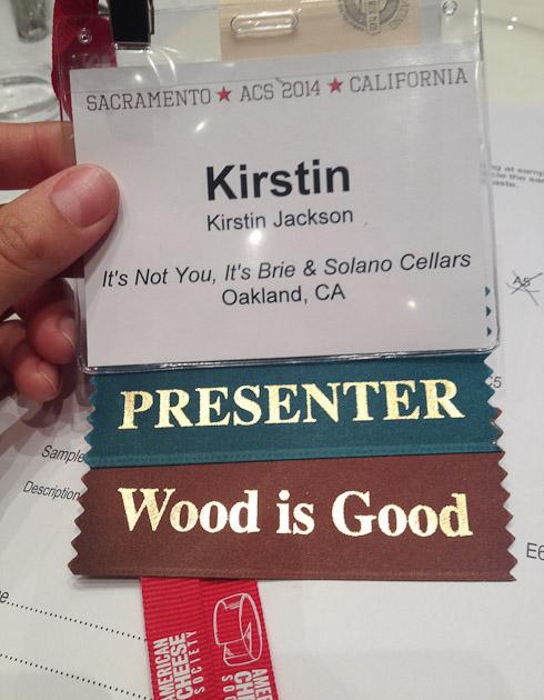 Presenting!
