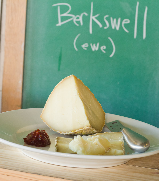 Berkswell sheep cheese