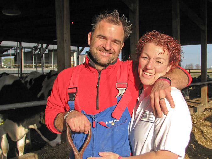Marieke and her husband, Rolf.