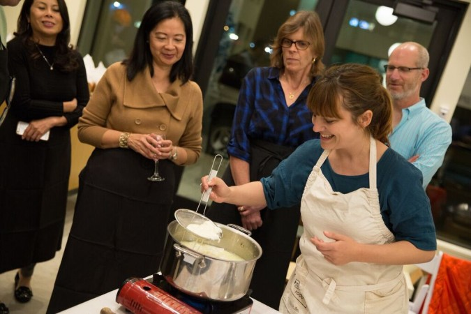private cheese making classes San Francisco