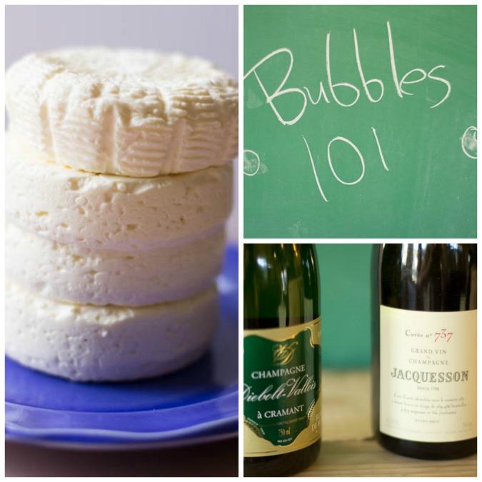 Bubbles & Camembert Blog