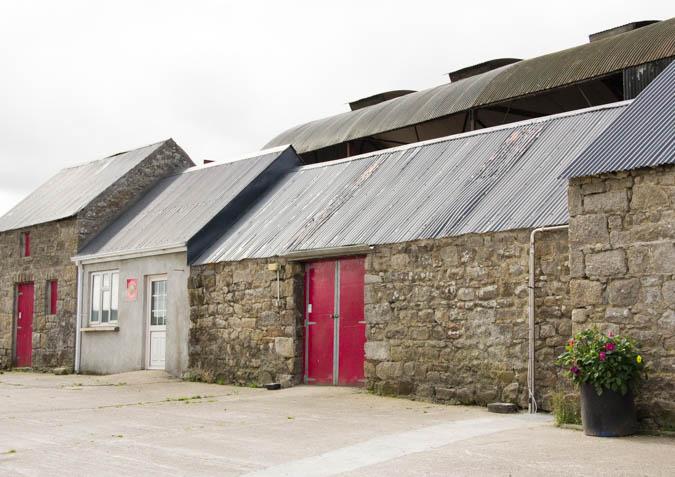Coolattin dairy – where The Cheese is made.