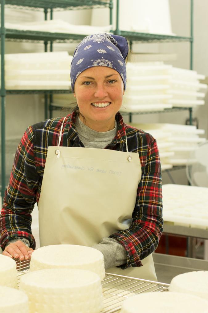 Cheesmaker Hadley - of Tomales Farmstead