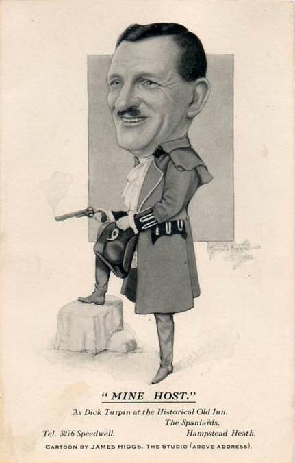 Cartoon Caricature of Hitler Spaniards Inn,1930s-1940s.jpg