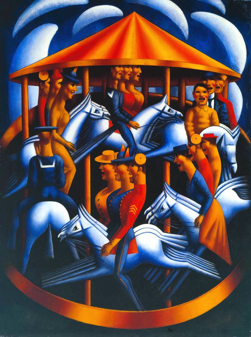 Mark Gertler's  Merry-Go-Round , 1916