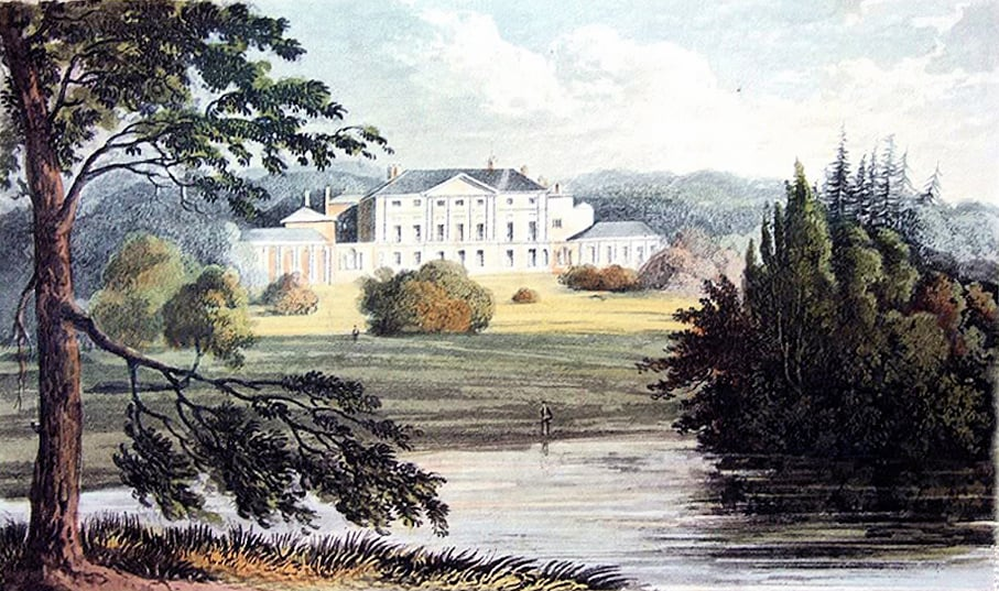 Caenwood, 1825 by F Stockdale