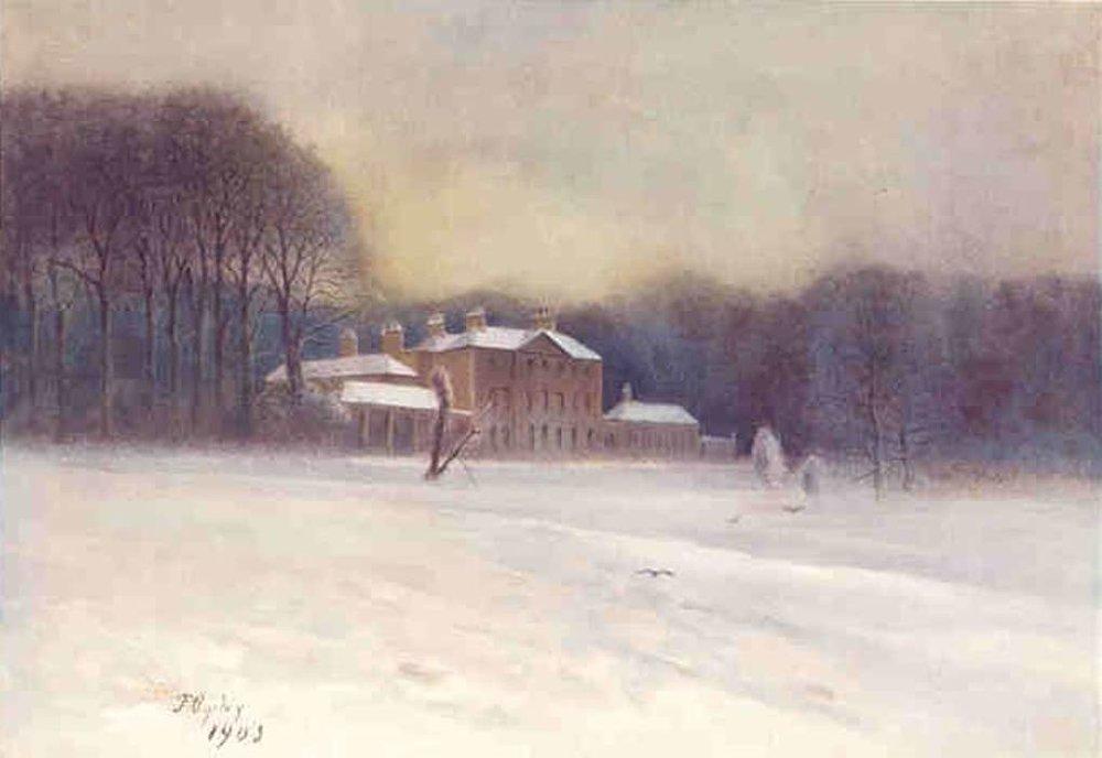 Caen Wood, Hampstead , painted 1905