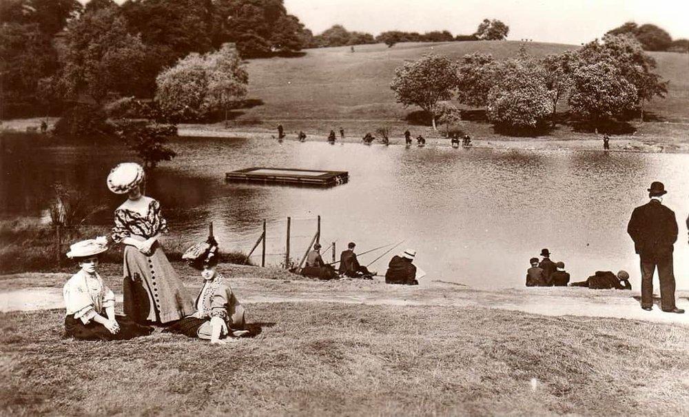 1900s Bathing Pond, Hampstead Ponds.JPG