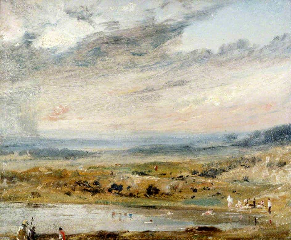 visit the gallery - For more photographs and paintings of Hampstead Heath's ponds