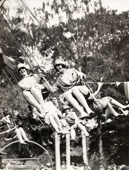 On the merry-go-round in the 1920s