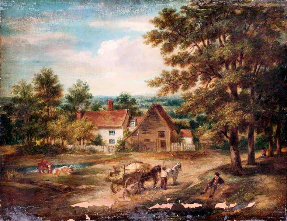1857 Wyldes Farm , John Wood.jpg