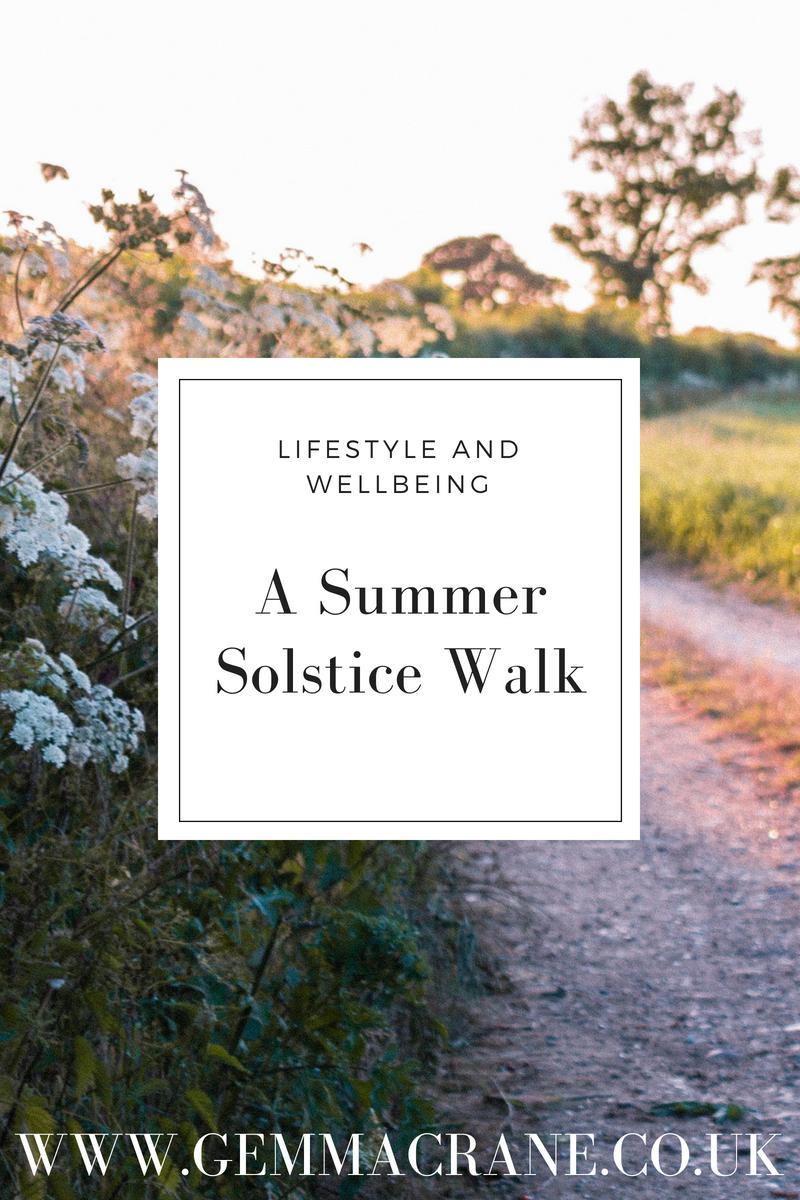 Slow Summer Solstice Walk