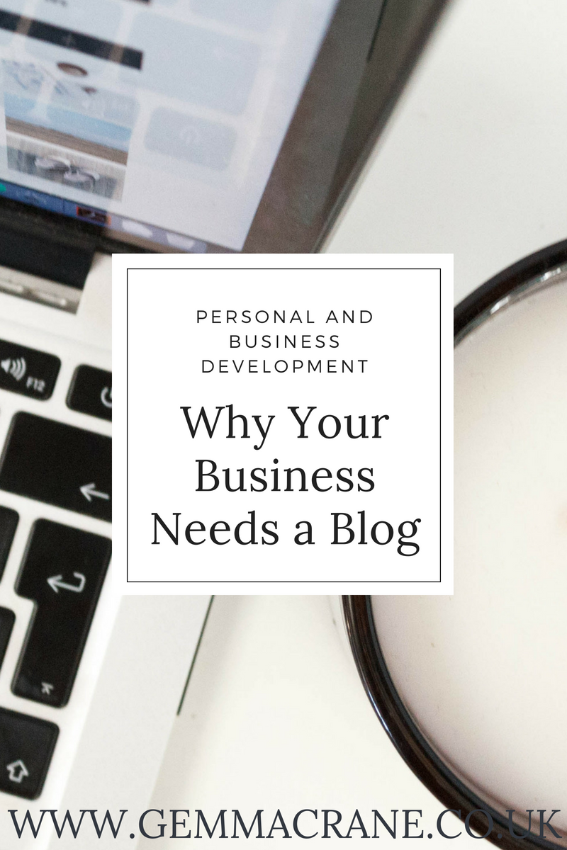 Pin Why Your Business Needs a Blog