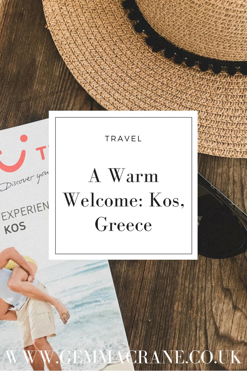 A Warm Welcome: Kos, Greece Pin