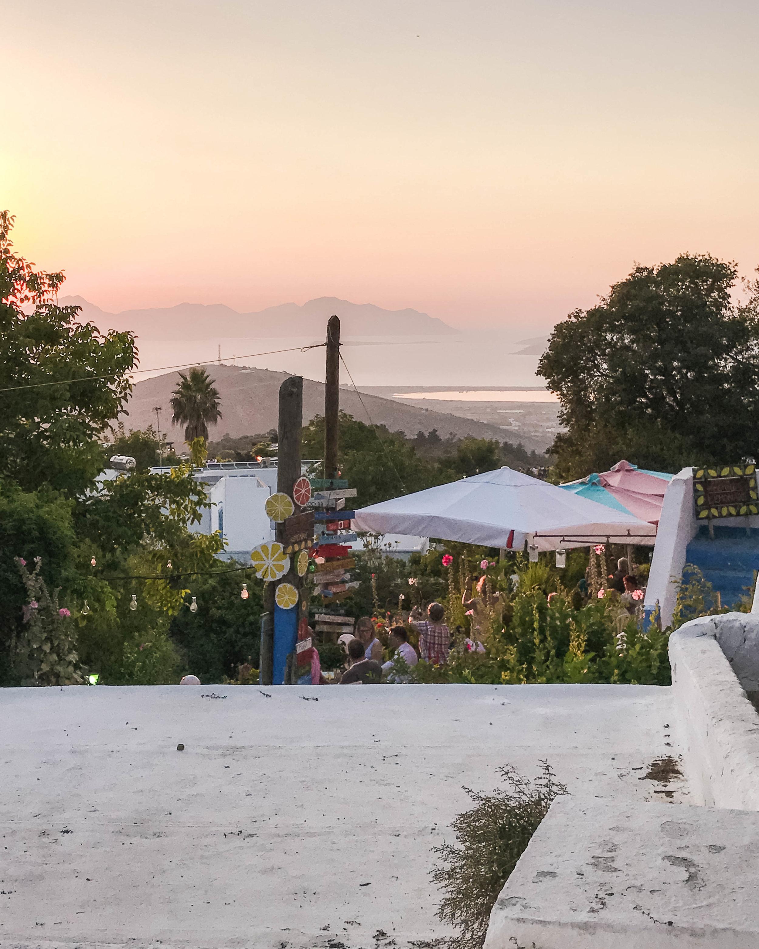 The Watermill Sunset Bar, Zia, Kos
