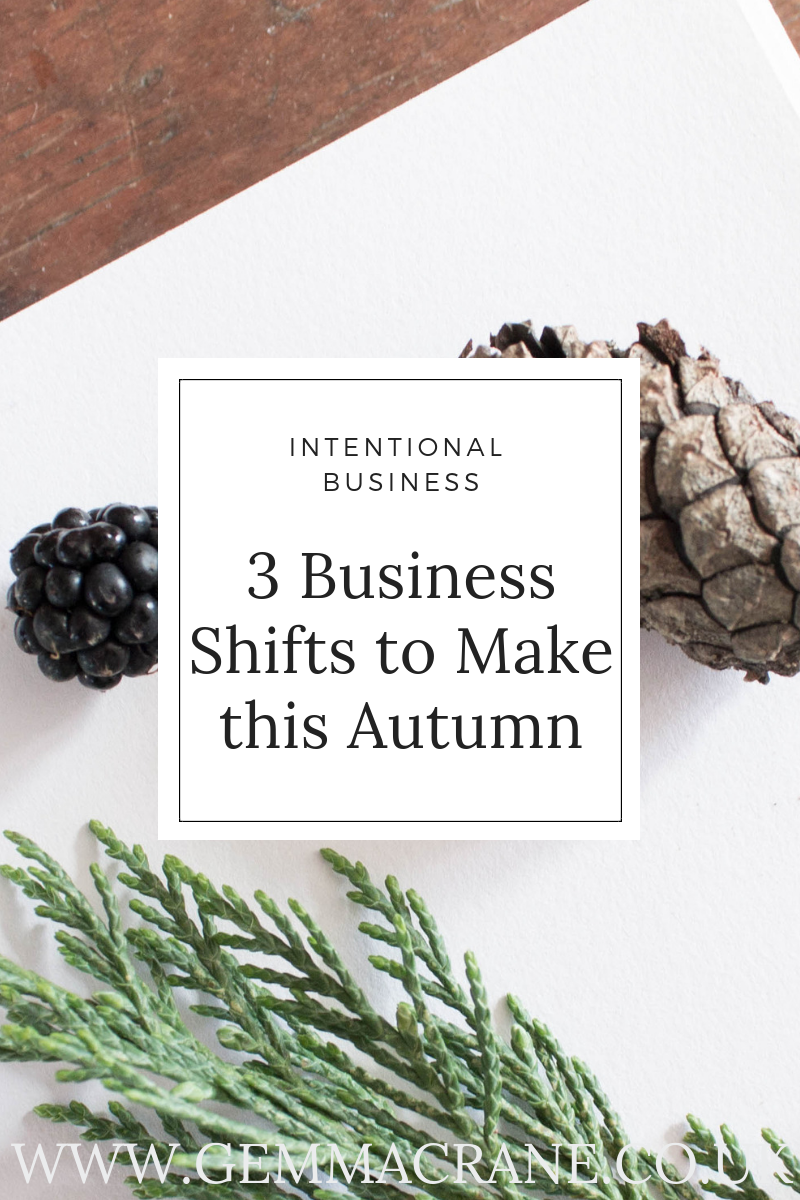 Pin 3 Business Shifts to Make this Autumn