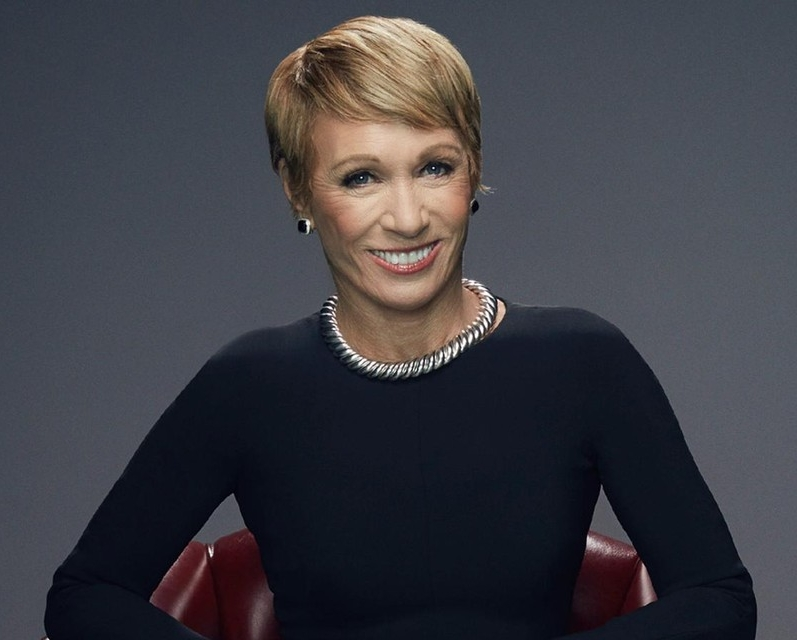 Barbara Corcoran   Although  Barbara Corcoran  may have gotten straight D's in high school and college, her grit and desire to succeed made those D's not matter. Corcoran took a $1000 loan to start the real estate empire known as The Corcoran Group. Since selling her company, Barbara has written numerous books, invested in dozens of companies, and has not stopped smiling and enjoying the ride. What's most important to her is that she is investing in great people.