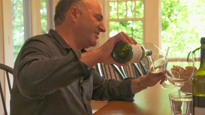 kevin o'leary shark tank wine tasting silver cup