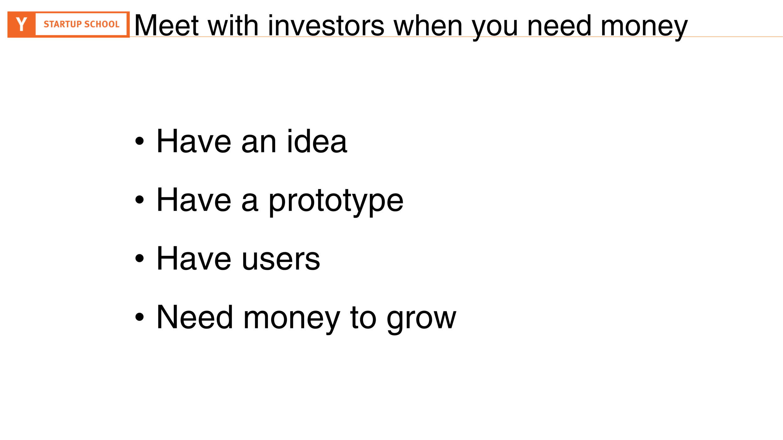 When You Need Investors by Aaron Harris (4:48) — Learmo