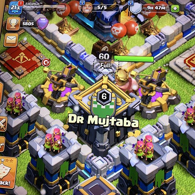 chilling with my bro dr. #clashofclans #drmujtaba