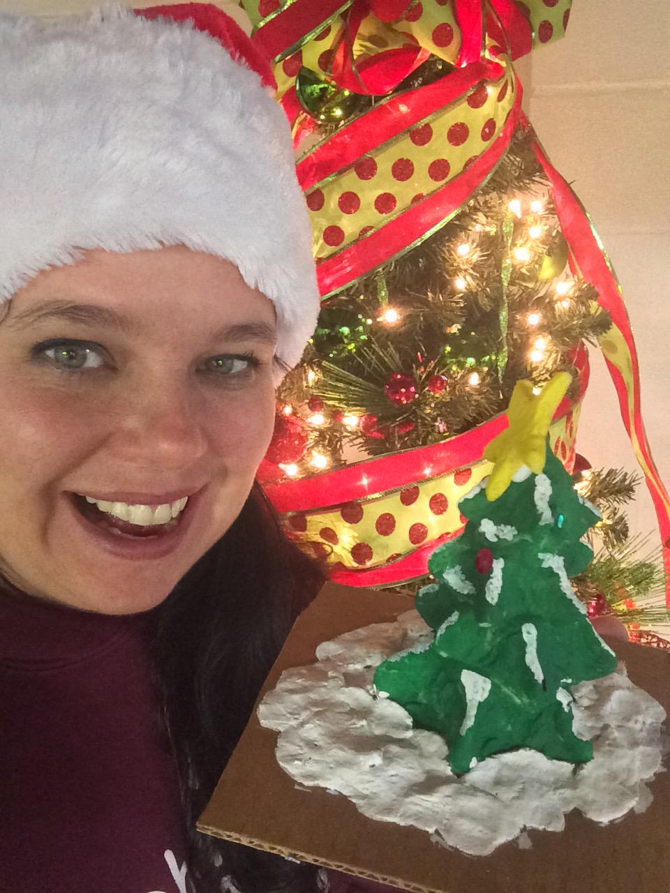 Christmas Tree Homemade Playdough