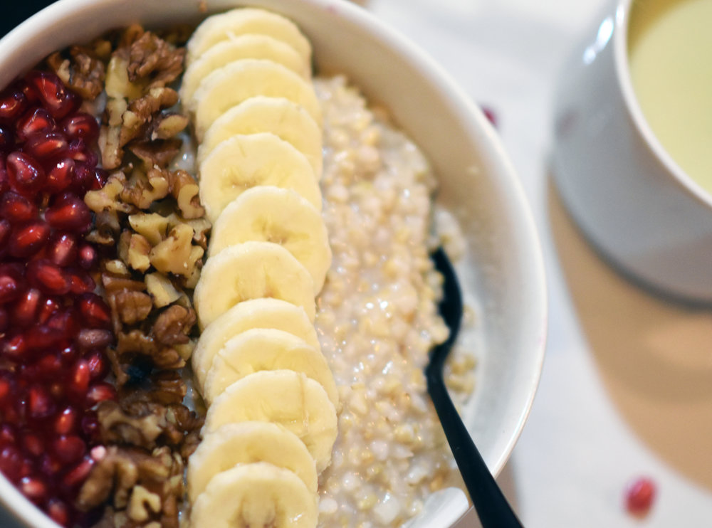 creamy InstantPot steel cut oats - the unsexiest of breakfasts, but still damn delicious