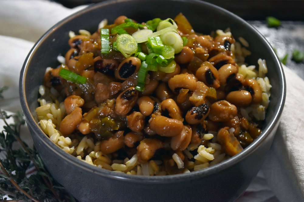 it's hard to make a bowl of beans look sexy - but i'll sure try