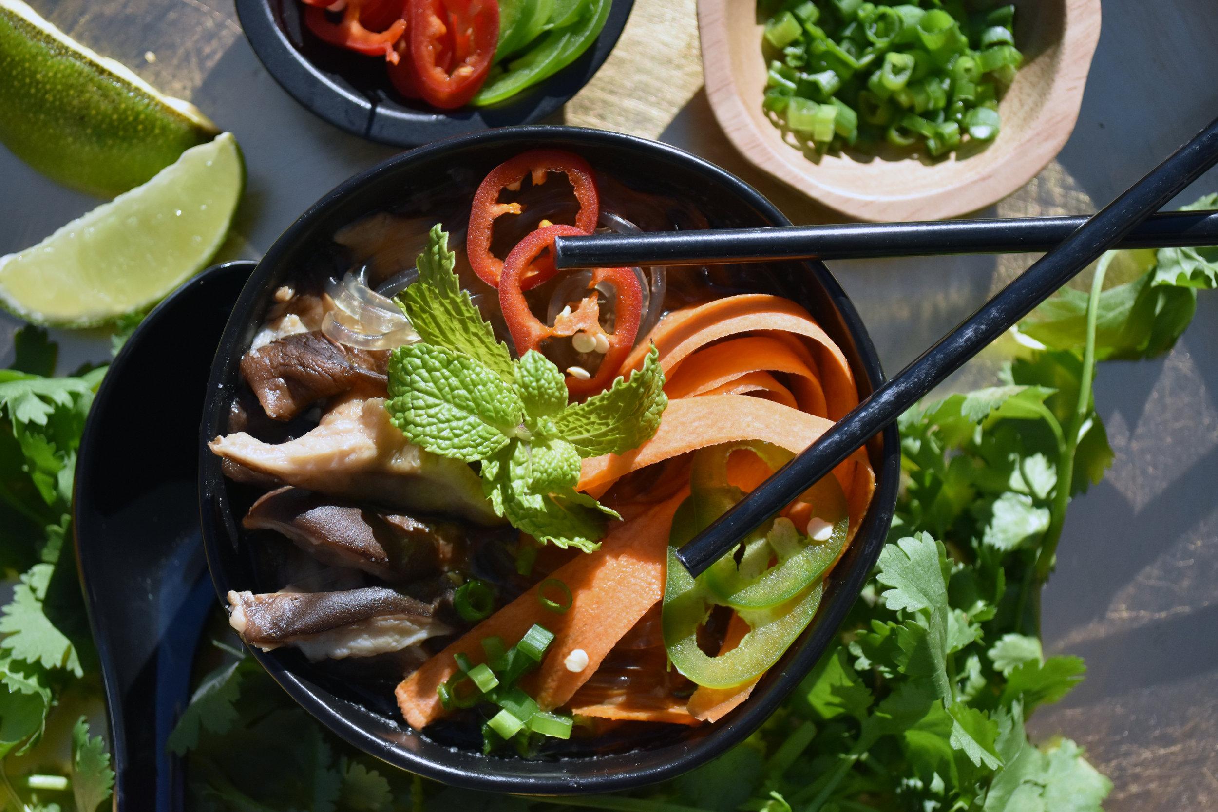 my take on vegan pho in an InstantPot — Run Yoga Eat