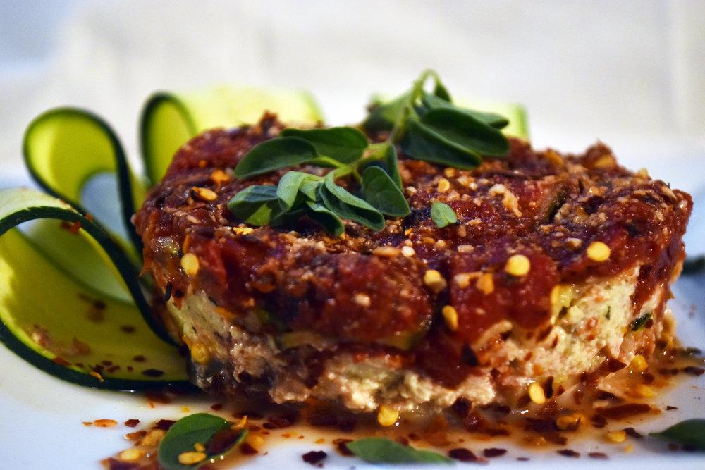 vegan zucchini lasagna with tofu ricotta - comfort food at its finest