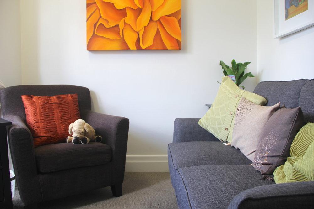 Rose's room with dog.JPG