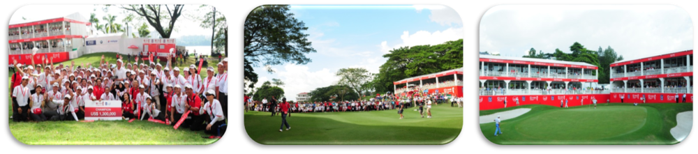 CIMB ASIA PACIFIC CLASSIC    Event date: 28 – 31 October 2010, 27 – 30 October 2011  Event venue: Mines Resort & Golf Club  Spectators: 31,000 people  Players: 48 players  Players: Ernie Els, Adam Scott, Ben Crane, KJ Choi, Kevin Na, and Luke Donald