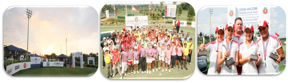 ASEAN JUNIOR GOLF INVITATIONAL CHAMPIONSHIP    Players: 75 players  Participating nations: 10 nations
