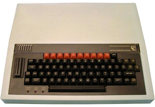BBC Micro. Source: https://commons.wikimedia.org/wiki/File:BBC_Micro.jpeg