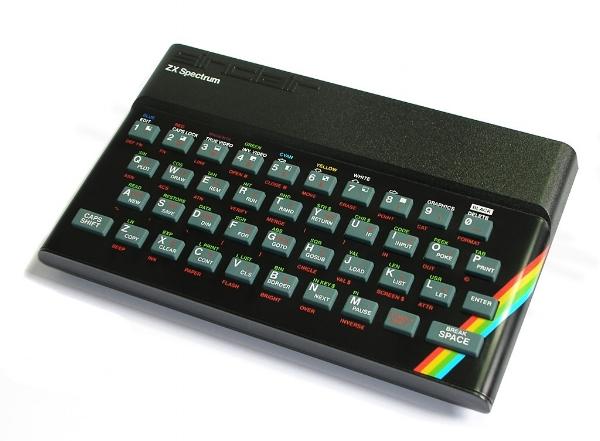 ZX Spectrum. Source: https://commons.wikimedia.org/wiki/Sinclair_ZX_Spectrum#/media/File:ZXSpectrum48k.jpg