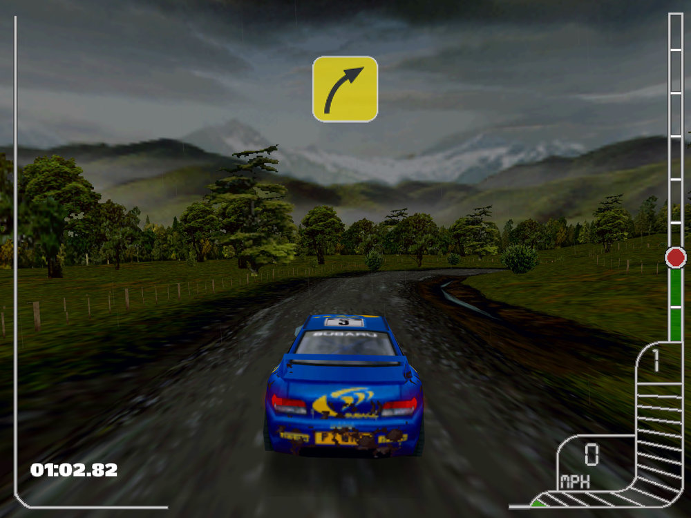 Colin McRae Rally - a big hit, but one that led to over expansion by Codemasters