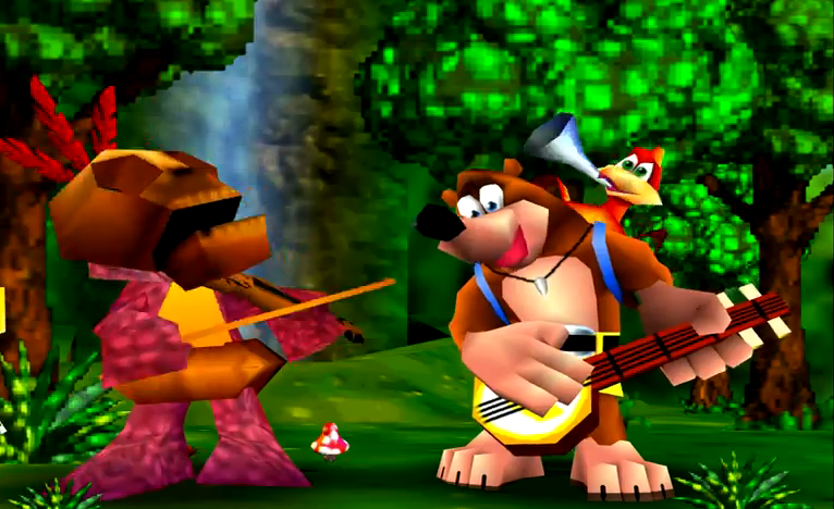 Banjo Kazooie's soundtrack wasn't on Spotify (except in cover form)
