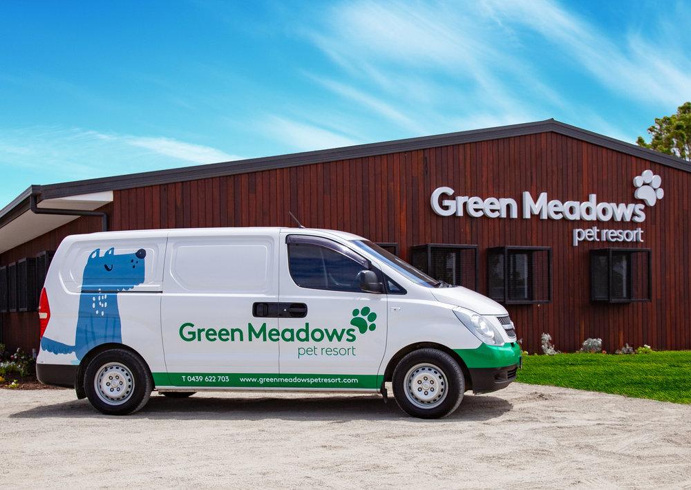 Green Meadows Pet Resort Transport