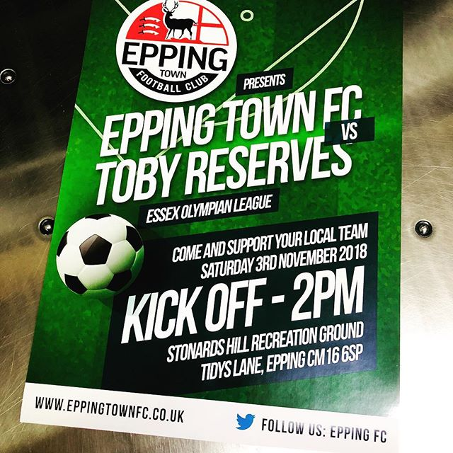 Some posters created for Epping Town FC #printdesign #print #poster #football #supportyourlocalteam #grassrootsfootball #epping #essex #instagood