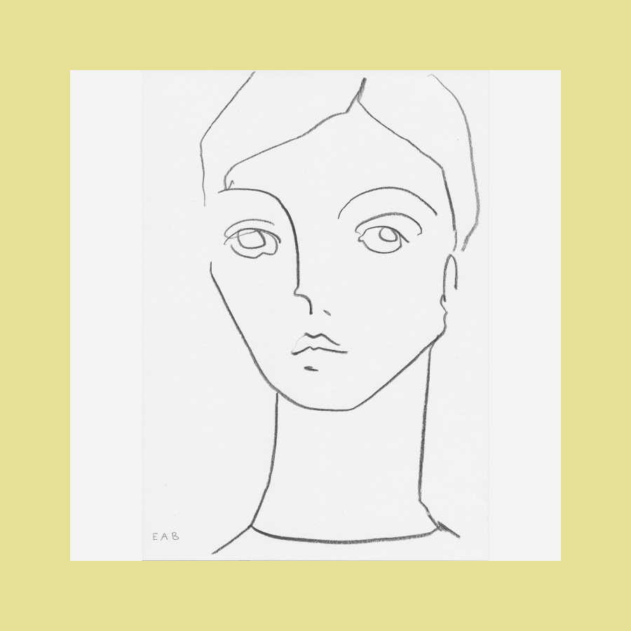 Grete Drawing, Elizabeth Bukanova