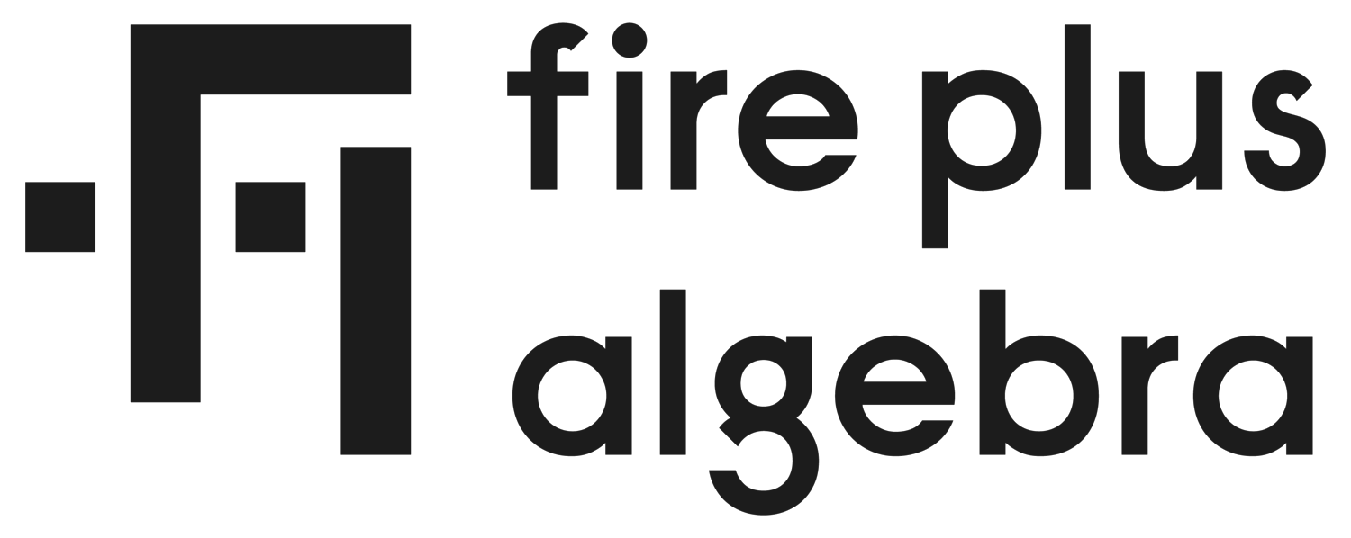 Fire Plus Algebra