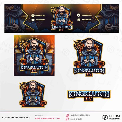 Custom Overlays and Logos for Twitch and Mixer streamers