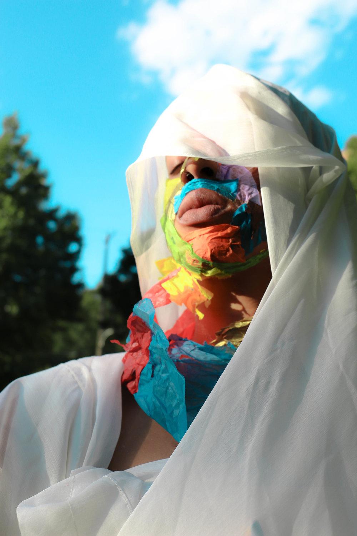 """Unraveling A HUEman Mosaic"", series 2018"